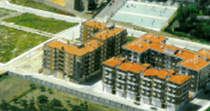 Edificación de 50 viviendas (Salamanca)