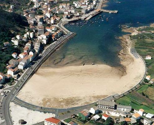 Paseo MarÍtimo en Camelles (A Coruña)